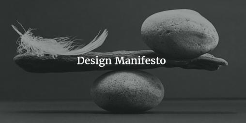 web design manifesto