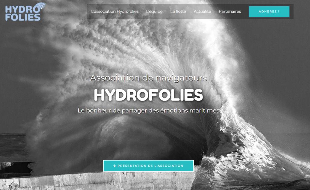 Hydrofolies -Association de navigateurs
