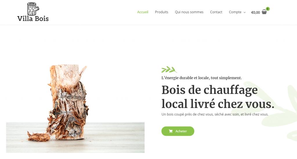 Villa Bois - Bois de chauffage