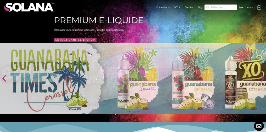 Solana - E-liquide